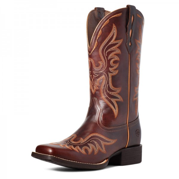 Ariat Western riding boot Round Up Flutter