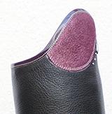 Glitter-Dunkelrosa