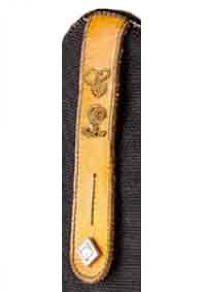 DeNiro-Peitschenhalter-mit-gestickten-Initialien