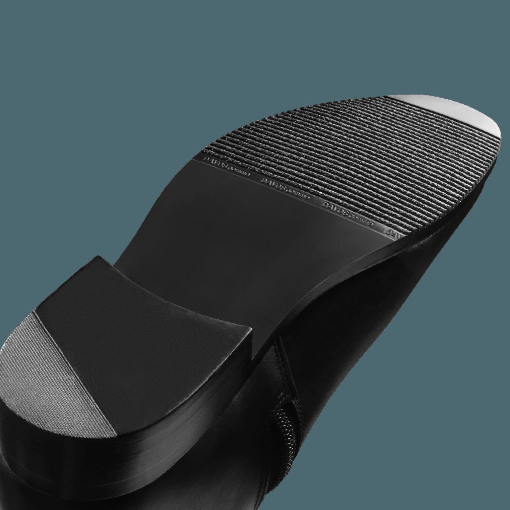 Sohle-in-schwarz-anstatt-braun