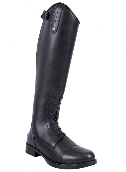 QHP leather kids riding boot Julia
