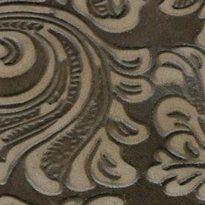 Flower-Print-braun