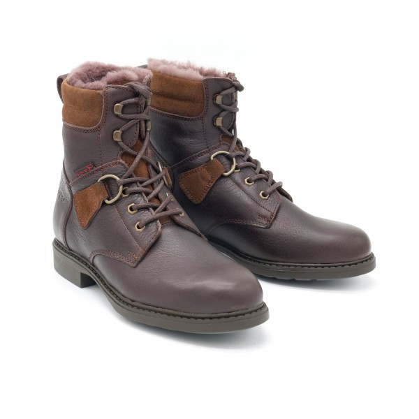 Hobo Reitstiefelette High Savanne NF Winter