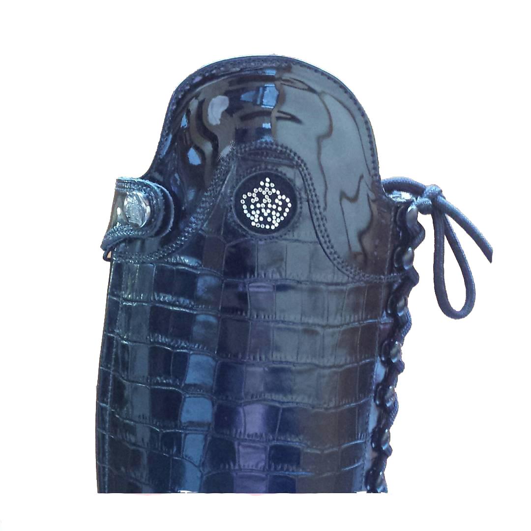 Krokoprint-navy
