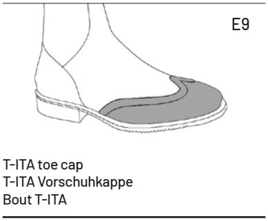 Zehenkappe-E9