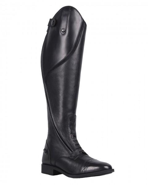 QHP leather kids riding boot Tamar