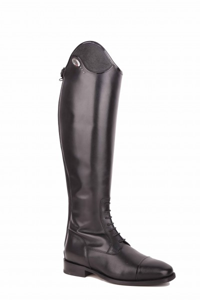 DeNiro show jumping boots Salentino 39 (45/37,5) in smooth black
