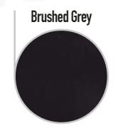 brushed-gresy