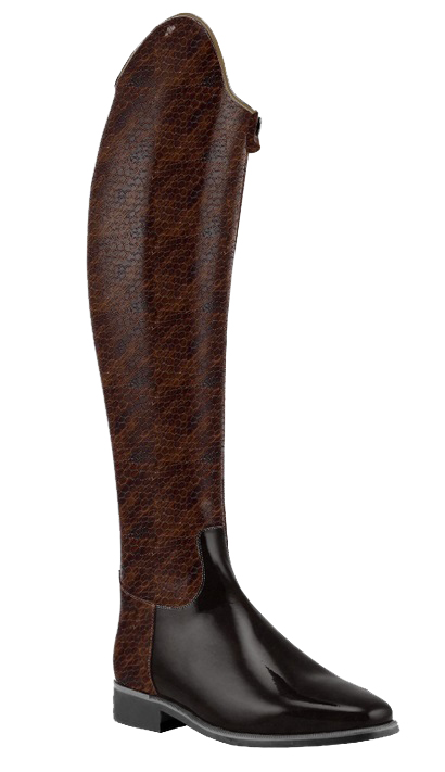 Honeycomb-brown-stiefel