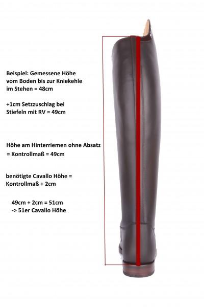 Cavallo Dressur Reitstiefel Nobilis Lux 38 2/3 (49/37)