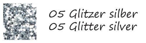 glitter-silber