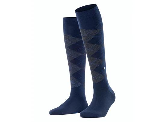 Burlington riding socks lurex marylebone