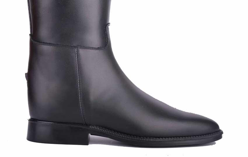Petrie-Allure-Reitstiefel-schwarz-Schuh